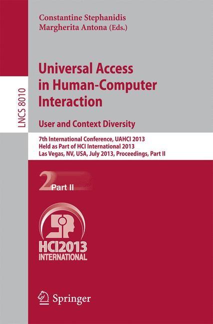 Abbildung von Stephanidis / Antona   Universal Access in Human-Computer Interaction: User and Context Diversity   2013