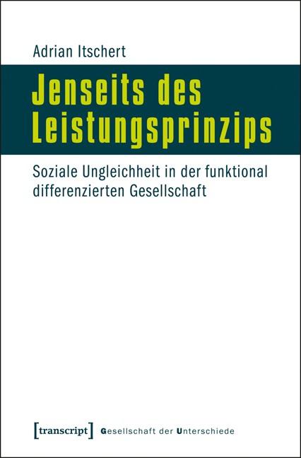 Abbildung von Itschert | Jenseits des Leistungsprinzips | 2013