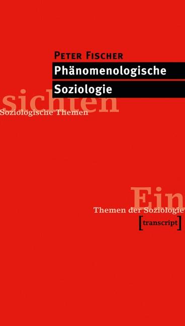 Abbildung von Fischer | Phänomenologische Soziologie | 2012