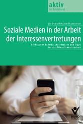 Soziale Medien in der Arbeit der Interessenvertretungen | Demuth / Thannheiser, 2014 | Buch (Cover)