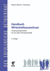 Handbuch Wirtschaftsausschuss   Laßmann / Rupp   9., aktualisierte Auflage, 2013   Buch (Cover)