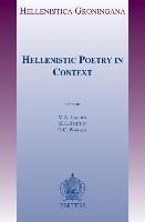 Abbildung von Harder / Regtuit / Wakker | Hellenistic Poetry in Context | 2014