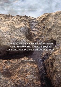 Abbildung von Devolder | Construire en Crète minoenne | 2013 | Une approche énergétique de l'... | 35