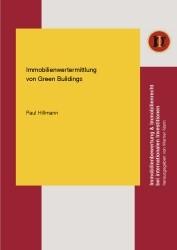 Abbildung von Hillmann   Immobilienwertermittlung von Green Buildings   1. Auflage 2013   2013