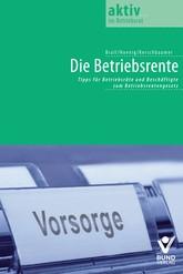 Die Betriebsrente | Brall / Hoenig / Kerschbaumer, 2018 | Buch (Cover)