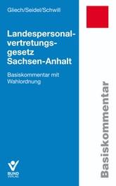 Landespersonalvertretungsgesetz Sachsen-Anhalt | Gliech / Seidel / Schwill, 2018 | Buch (Cover)