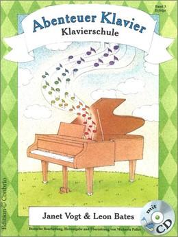 Abbildung von Abenteuer Klavier, Erfolge (3. Hauptband) | 2004 | Klavierschule für Kinder