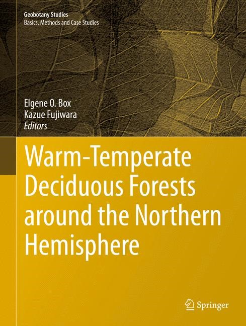 Warm-Temperate Deciduous Forests around the Northern Hemisphere | Box / Fujiwara, 2015 | Buch (Cover)