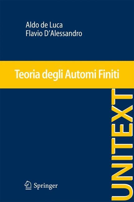 Abbildung von de Luca / D'Alessandro | Teoria degli Automi Finiti | 2013