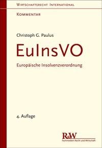 Europäische Insolvenzverordnung: EuInsVO   Paulus   Buch (Cover)