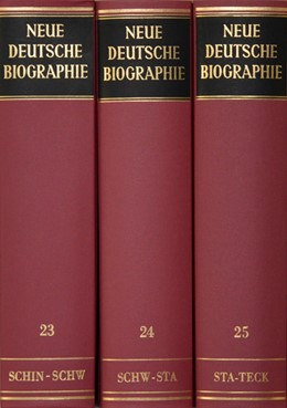 Abbildung von Neue Deutsche Biographie. | 2010 | Band 24: Schwarz – Stader. Mit... | 24