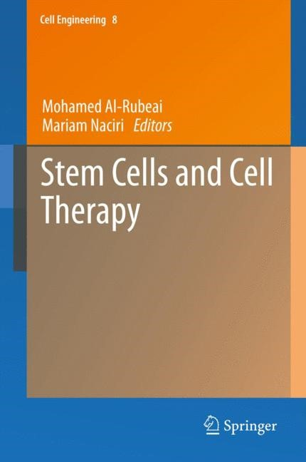 Abbildung von Al-Rubeai / Naciri | Stem Cells and Cell Therapy | 2013
