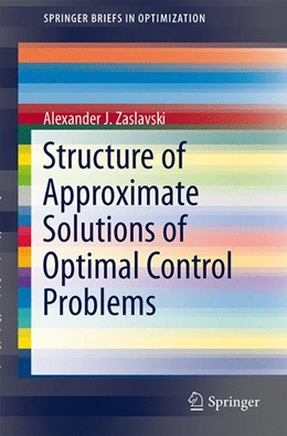 Abbildung von Zaslavski | Structure of Approximate Solutions of Optimal Control Problems | 2013