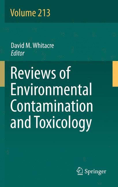 Abbildung von Whitacre | Reviews of Environmental Contamination and Toxicology Volume 213 | 2013
