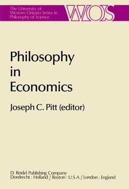Abbildung von Pitt   Philosophy in Economics   1981   Papers Deriving from and Relat...   16