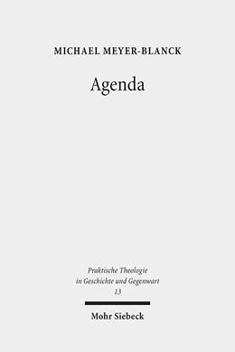 Abbildung von Meyer-Blanck   Agenda   2013   Zur Theorie liturgischen Hande...   13
