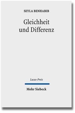 Abbildung von Drehsen / Benhabib | Gleichheit und Differenz | 2013 | Die Würde des Menschen und die... | 2012
