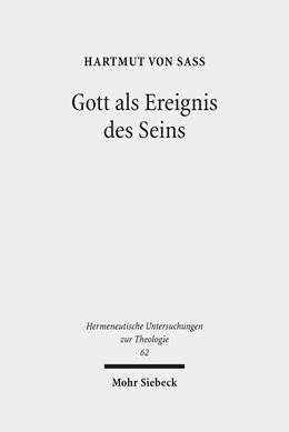 Abbildung von Sass   Gott als Ereignis des Seins   2013   Versuch einer hermeneutischen ...   62