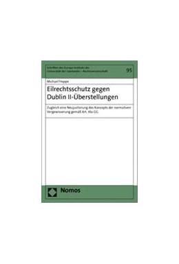 Abbildung von Hoppe | Eilrechtsschutz gegen Dublin II-Überstellungen | 2013 | Zugleich eine Neujustierung de... | 95
