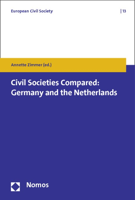 Abbildung von Zimmer | Civil Societies Compared: Germany and the Netherlands | 2013