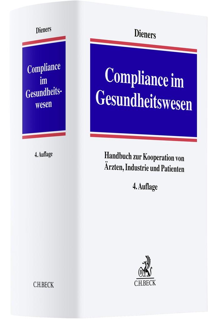 Compliance im Gesundheitswesen | Dieners | 4. Auflage, 2019 | Buch (Cover)