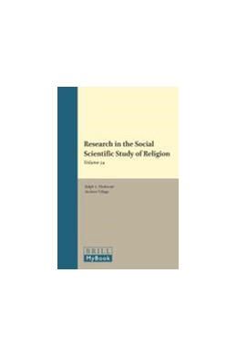Abbildung von Research in the Social Scientific Study of Religion, Volume 24  | 2013 | Volume 24 | 24