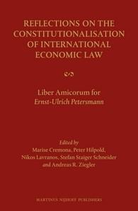 Abbildung von Reflections on the Constitutionalisation of International Economic Law | 2013