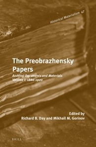 Abbildung von Gorinov | The Preobrazhensky Papers | 2014