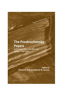 Abbildung von Gorinov | The Preobrazhensky Papers | 2014 | Archival Documents and Materia... | 47