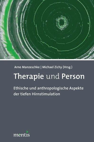 Abbildung von Manzeschke / Zichy   Therapie und Person   2013