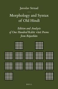 Abbildung von Strnad | Morphology and Syntax of Old Hindi | 2013