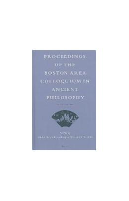 Abbildung von Gurtler / Wians   Proceedings of the Boston Area Colloquium in Ancient Philosophy   2013   Volume XXVIII (2012)   28