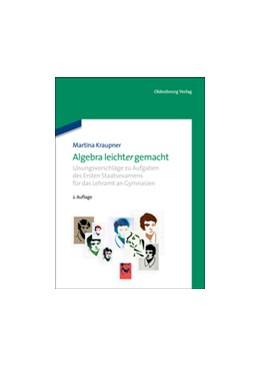 Abbildung von Kraupner | Algebra leicht(er) gemacht | 2., korrigierte Aufl. | 2013 | Lösungsvorschläge zu Aufgaben ...