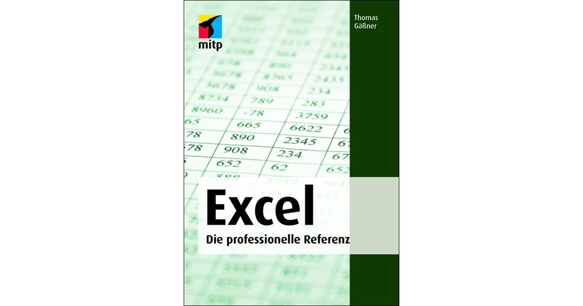 Microsoft Office Excel | Gäßner | 2., überarbeitete Auflage 2015 ...