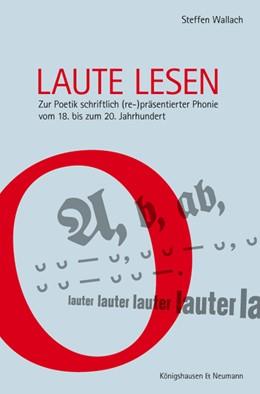 Abbildung von Wallach | Laute lesen | 1. Auflage | 2014 | 781 | beck-shop.de