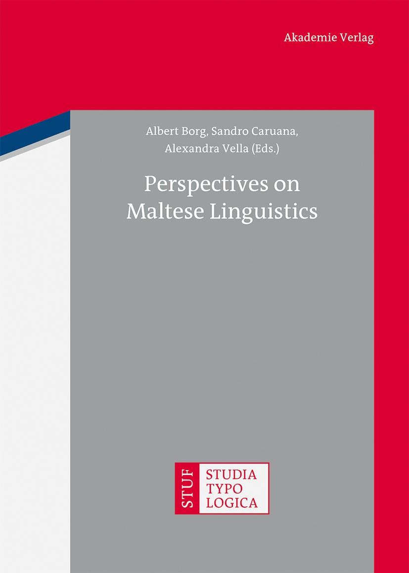 Perspectives on Maltese Linguistics   Borg / Caruana / Vella, 2013   Buch (Cover)