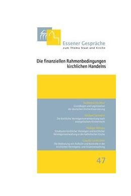 Abbildung von Kämper / Thönnes | Die finanziellen Rahmenbedingungen kirchlichen Handelns | 1. Auflage 2013 | 2013 | 47