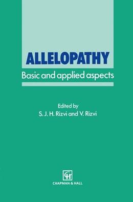 Abbildung von Rizvi | Allelopathy | 1992 | Basic and applied aspects