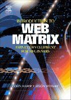 Abbildung von Hardy / Stobart | Introduction to Web Matrix | 2003