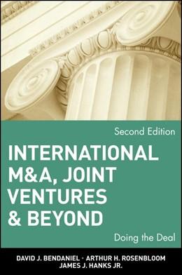 Abbildung von BenDaniel / Rosenbloom / Hanks | International M&A, Joint Ventures and Beyond | 2. Auflage | 2002 | Doing the Deal