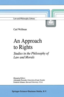 Abbildung von Wellman | An Approach to Rights | 1997 | Studies in the Philosophy of L... | 29