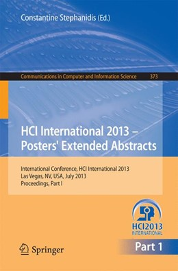 Abbildung von Stephanidis   HCI International 2013 - Posters' Extended Abstracts   2013   International Conference, HCI ...   373