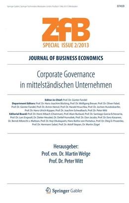Abbildung von Welge / Witt | Corporate Governance in mittelständischen Unternehmen | 1. Auflage | 2013 | beck-shop.de