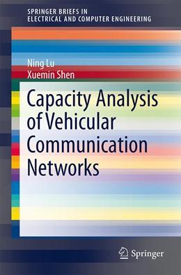 Abbildung von Lu / Shen | Capacity Analysis of Vehicular Communication Networks | 2013