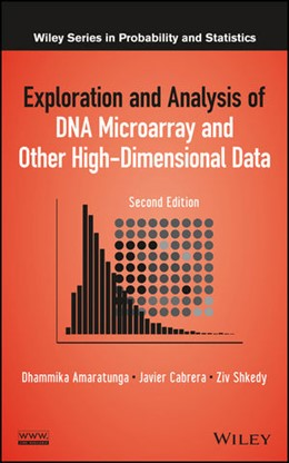 Abbildung von Amaratunga / Cabrera / Shkedy | Exploration and Analysis of DNA Microarray and Other High-Dimensional Data | 2014