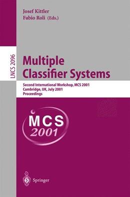 Abbildung von Kittler / Roli | Multiple Classifier Systems | 2001 | Second International Workshop,... | 2096