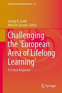 Abbildung von Zarifis / Gravani | Challenging the 'European Area of Lifelong Learning' | 2013 | A Critical Response | 19