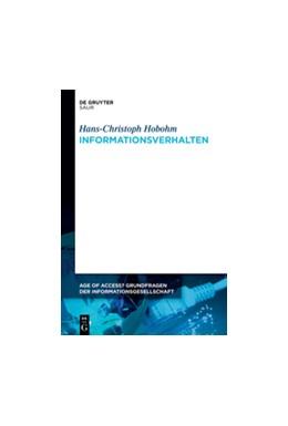 Abbildung von Hobohm | Informationsverhalten | 2021 | 5