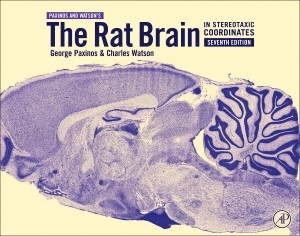 The Rat Brain in Stereotaxic Coordinates | Paxinos / Watson, 2013 | Buch (Cover)