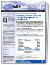 Zoll und Außenhandel aktuell, 2013 (Cover)